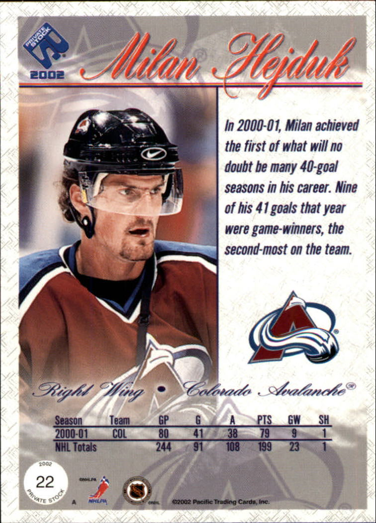 2001-02-Private-Stock-Hockey-Cards-Pick-From-List miniature 33