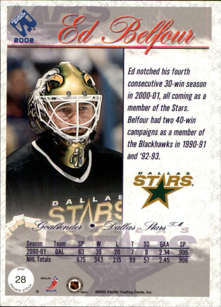 2001-02-Private-Stock-Hockey-Cards-Pick-From-List miniature 43