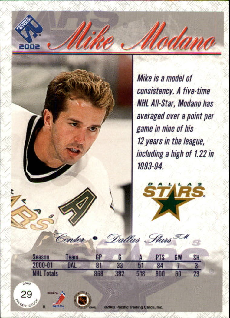 2001-02-Private-Stock-Hockey-Cards-Pick-From-List miniature 45