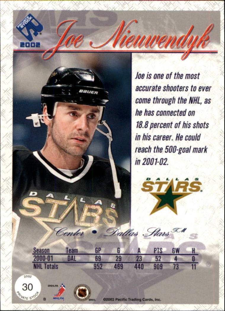 2001-02-Private-Stock-Hockey-Cards-Pick-From-List miniature 47