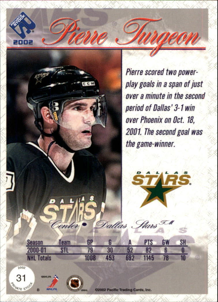 2001-02-Private-Stock-Hockey-Cards-Pick-From-List miniature 49