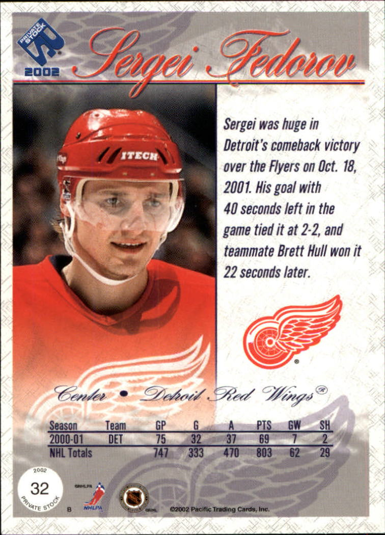 2001-02-Private-Stock-Hockey-Cards-Pick-From-List miniature 51