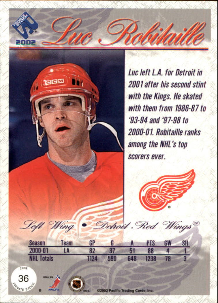 2001-02-Private-Stock-Hockey-Cards-Pick-From-List miniature 59