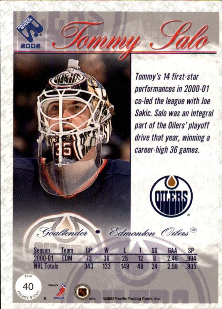 2001-02-Private-Stock-Hockey-Cards-Pick-From-List miniature 67