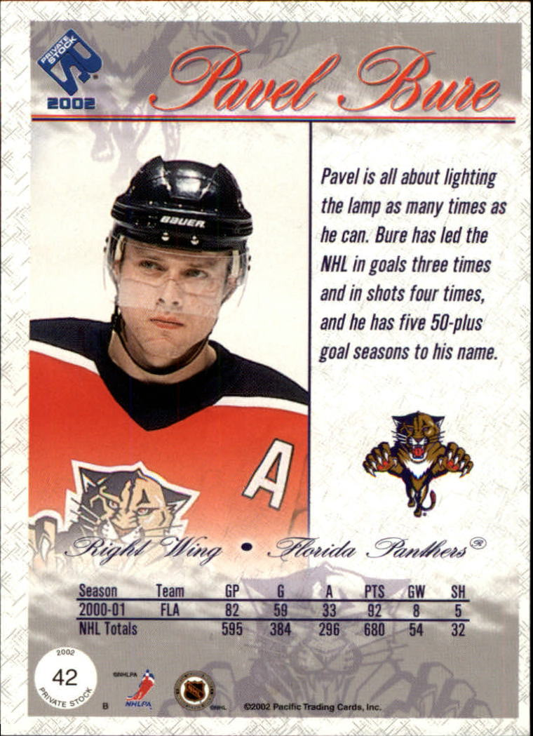 2001-02-Private-Stock-Hockey-Cards-Pick-From-List miniature 71