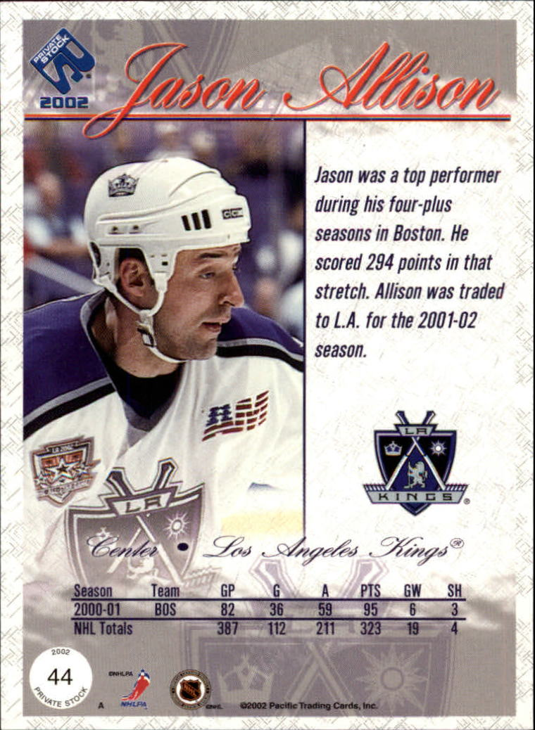 2001-02-Private-Stock-Hockey-Cards-Pick-From-List miniature 75