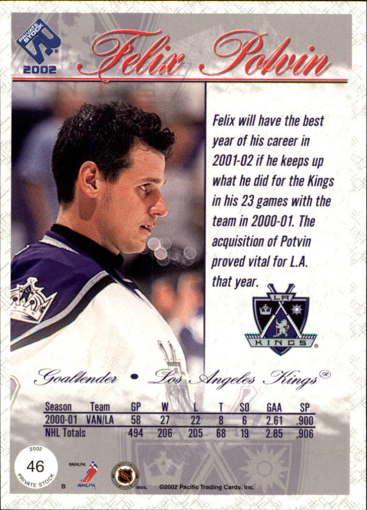 2001-02-Private-Stock-Hockey-Cards-Pick-From-List miniature 79