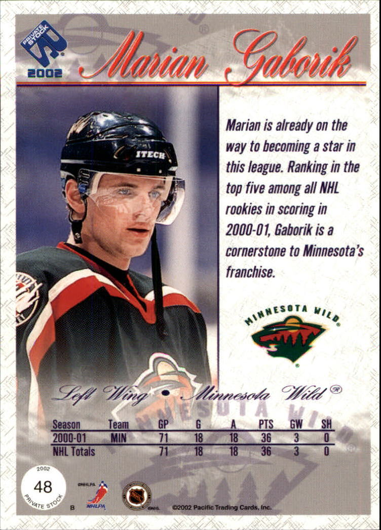 2001-02-Private-Stock-Hockey-Cards-Pick-From-List miniature 81
