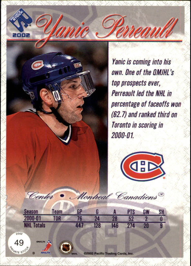 2001-02-Private-Stock-Hockey-Cards-Pick-From-List miniature 83
