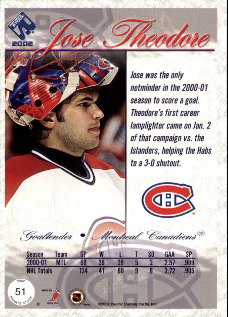 2001-02-Private-Stock-Hockey-Cards-Pick-From-List miniature 87