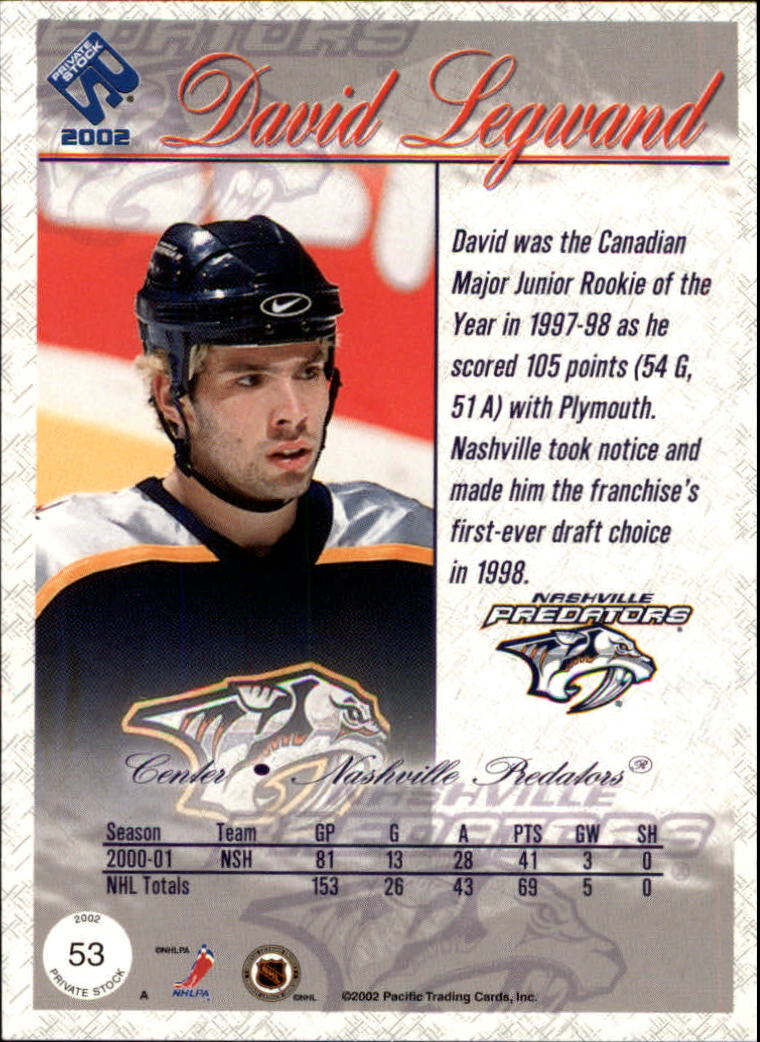 2001-02-Private-Stock-Hockey-Cards-Pick-From-List miniature 91