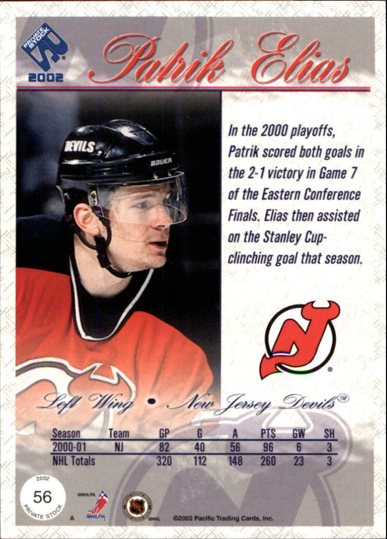 2001-02-Private-Stock-Hockey-Cards-Pick-From-List miniature 97