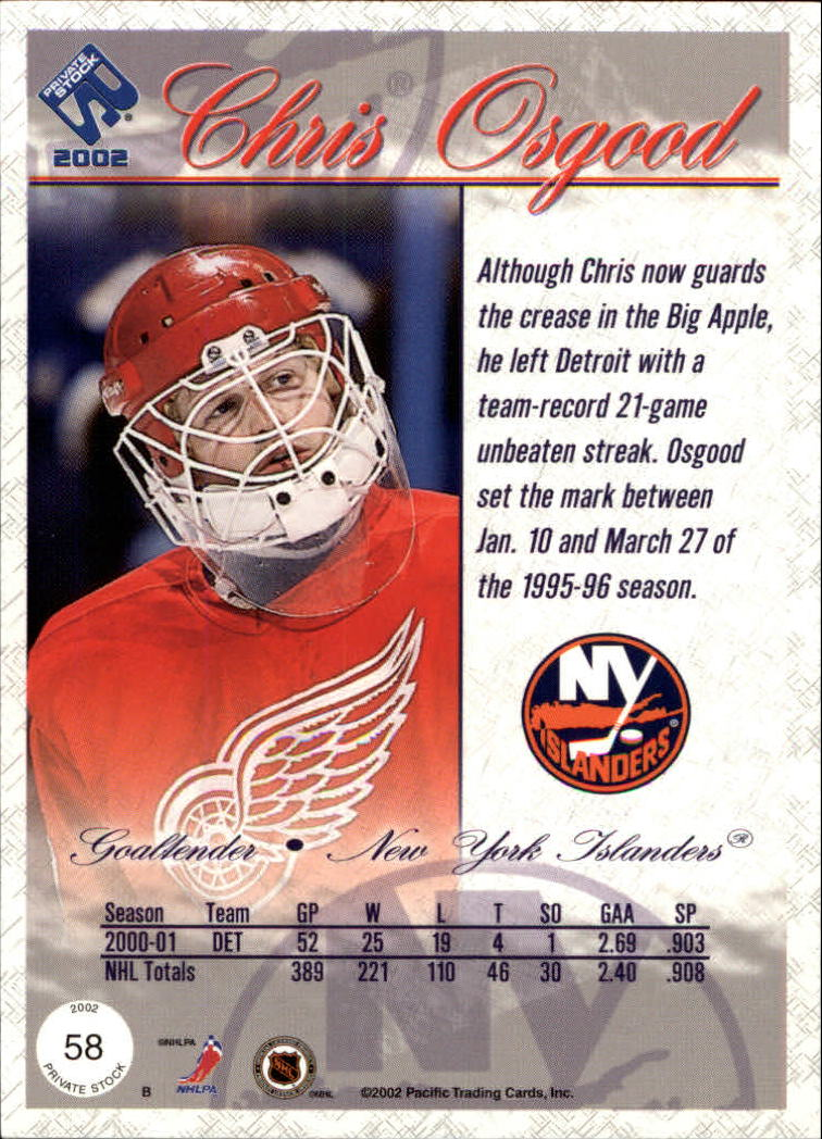 2001-02-Private-Stock-Hockey-Cards-Pick-From-List miniature 101