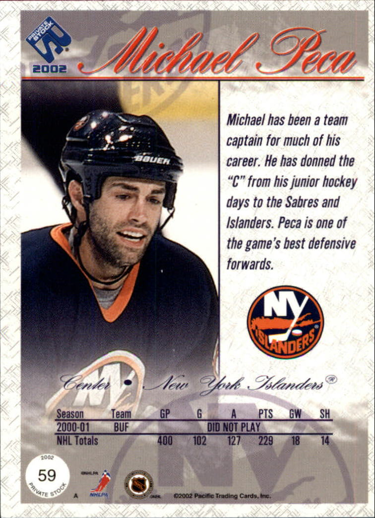 2001-02-Private-Stock-Hockey-Cards-Pick-From-List miniature 103