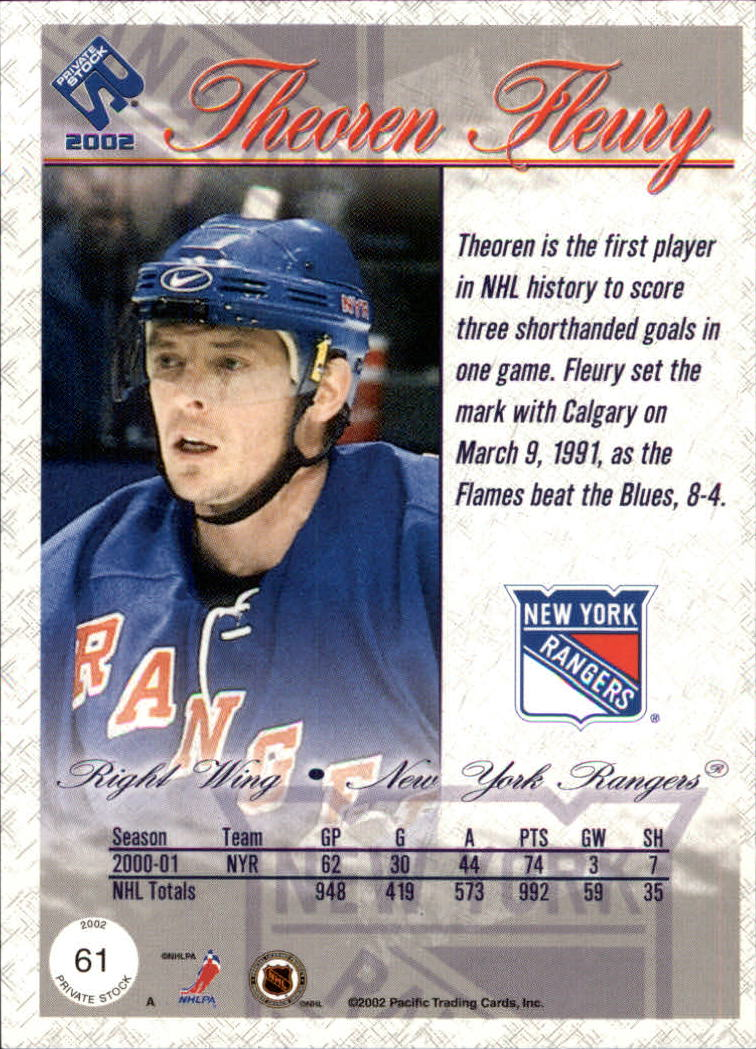 2001-02-Private-Stock-Hockey-Cards-Pick-From-List miniature 105