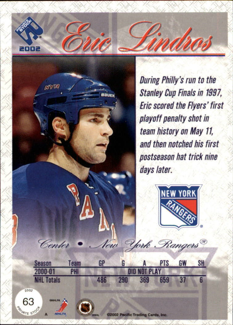 2001-02-Private-Stock-Hockey-Cards-Pick-From-List miniature 109