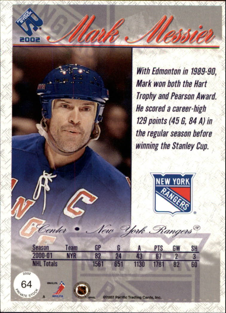 2001-02-Private-Stock-Hockey-Cards-Pick-From-List miniature 111