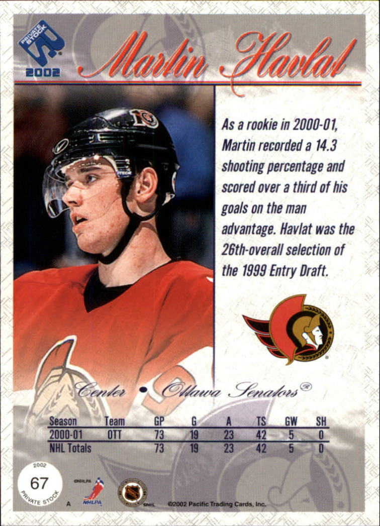 2001-02-Private-Stock-Hockey-Cards-Pick-From-List miniature 115