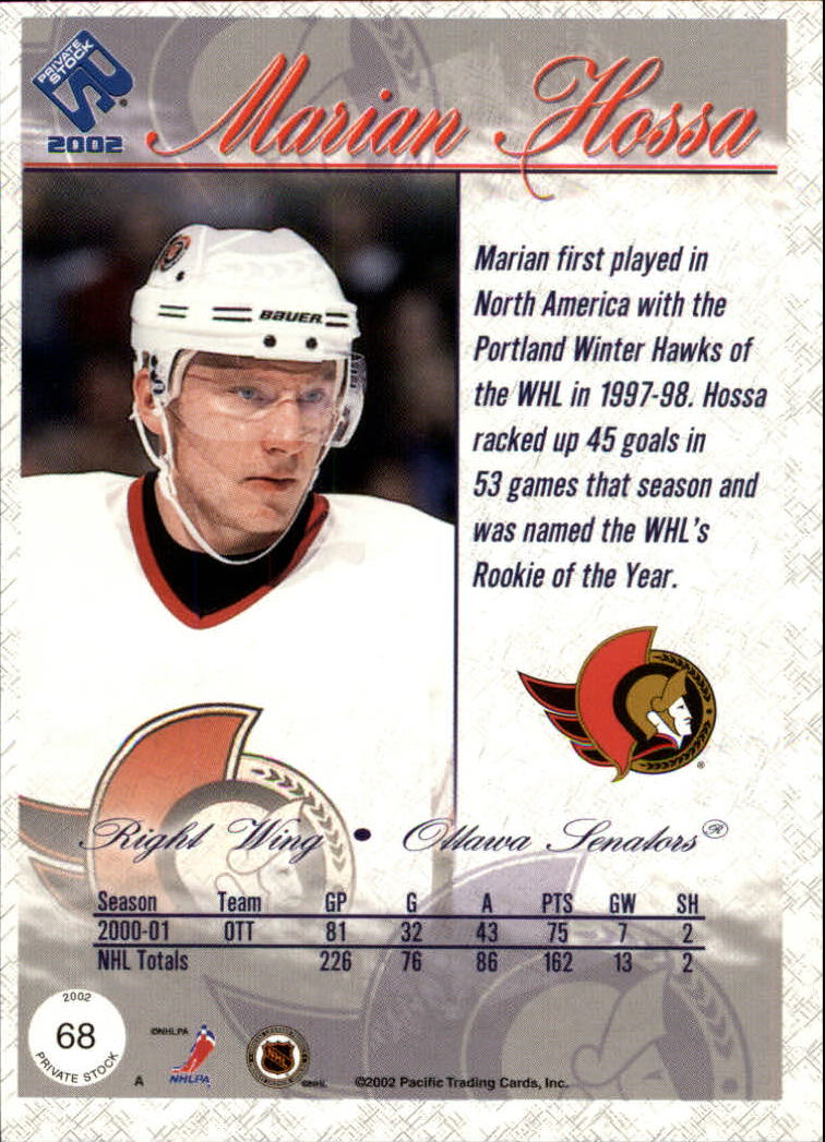 2001-02-Private-Stock-Hockey-Cards-Pick-From-List miniature 117