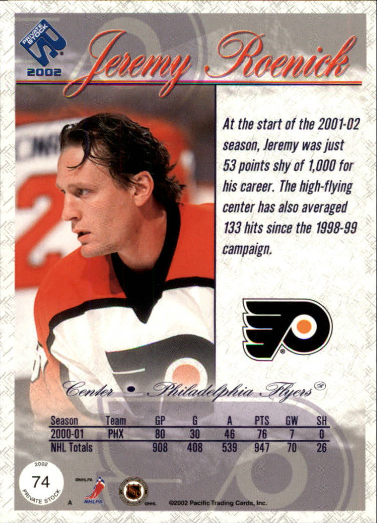 2001-02-Private-Stock-Hockey-Cards-Pick-From-List miniature 125