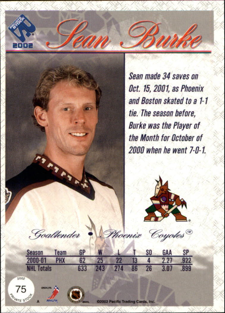 2001-02-Private-Stock-Hockey-Cards-Pick-From-List miniature 127