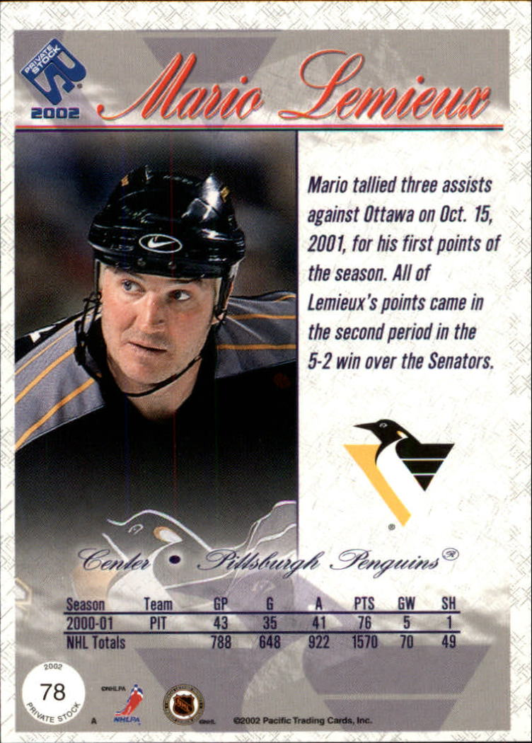 2001-02-Private-Stock-Hockey-Cards-Pick-From-List miniature 131