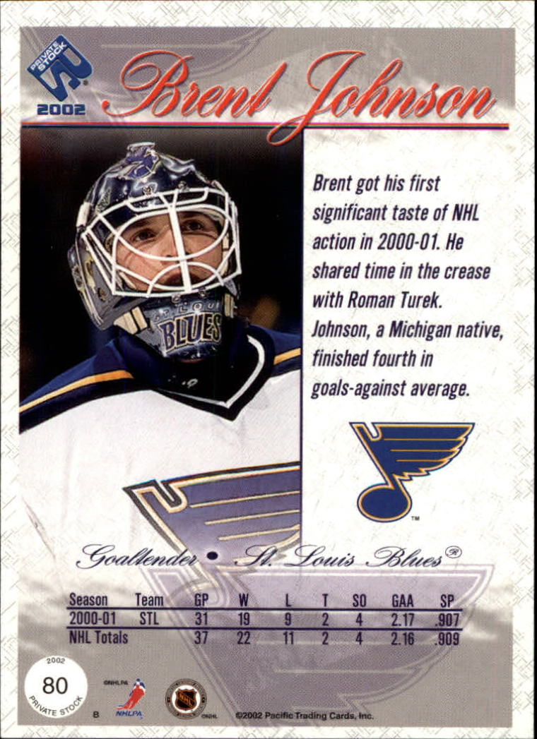 2001-02-Private-Stock-Hockey-Cards-Pick-From-List miniature 135