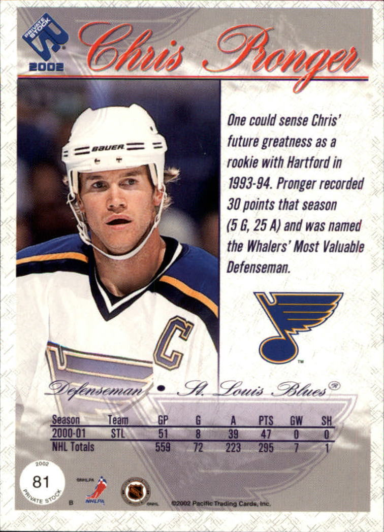 2001-02-Private-Stock-Hockey-Cards-Pick-From-List miniature 137