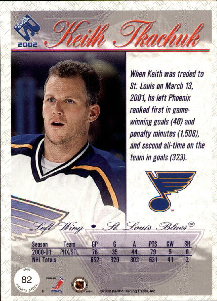 2001-02-Private-Stock-Hockey-Cards-Pick-From-List miniature 139