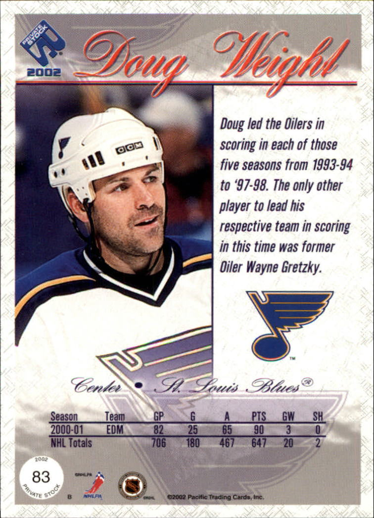 2001-02-Private-Stock-Hockey-Cards-Pick-From-List miniature 141