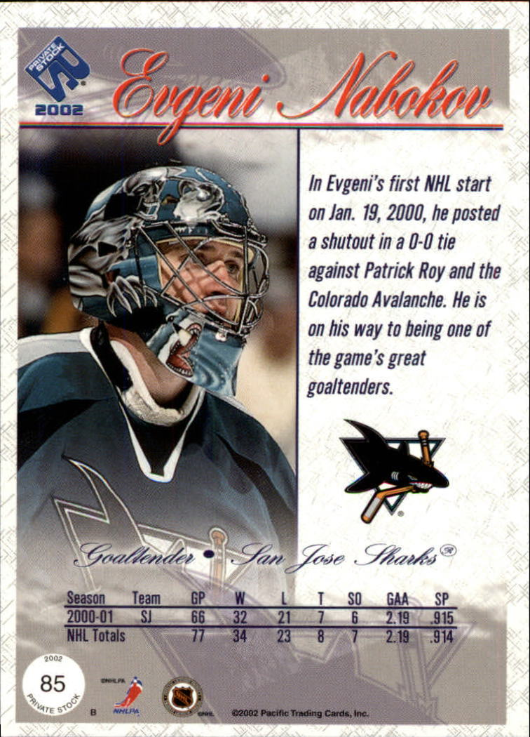 2001-02-Private-Stock-Hockey-Cards-Pick-From-List miniature 145