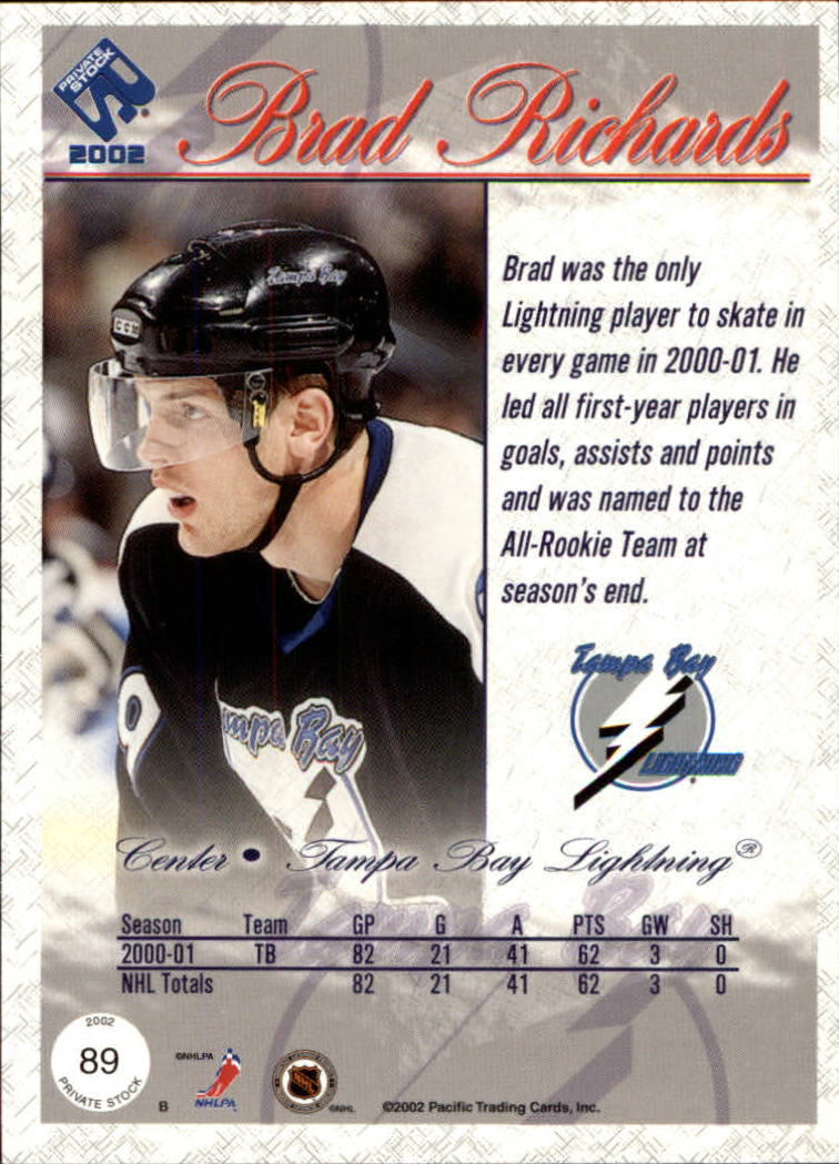 2001-02-Private-Stock-Hockey-Cards-Pick-From-List miniature 153
