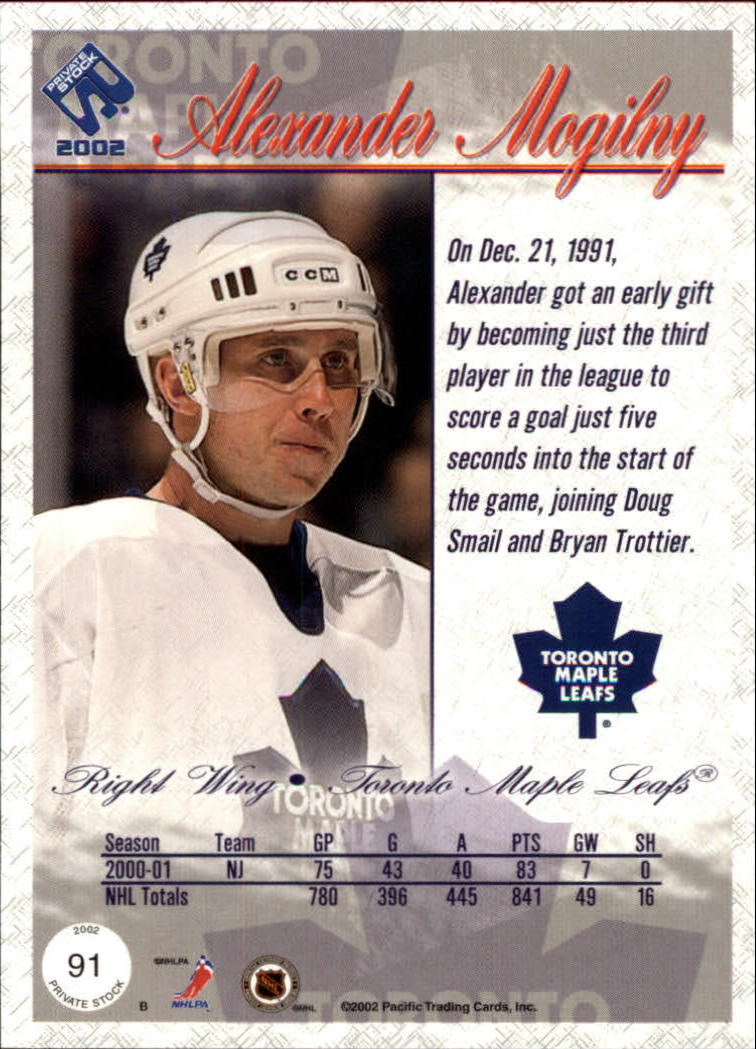 2001-02-Private-Stock-Hockey-Cards-Pick-From-List miniature 157