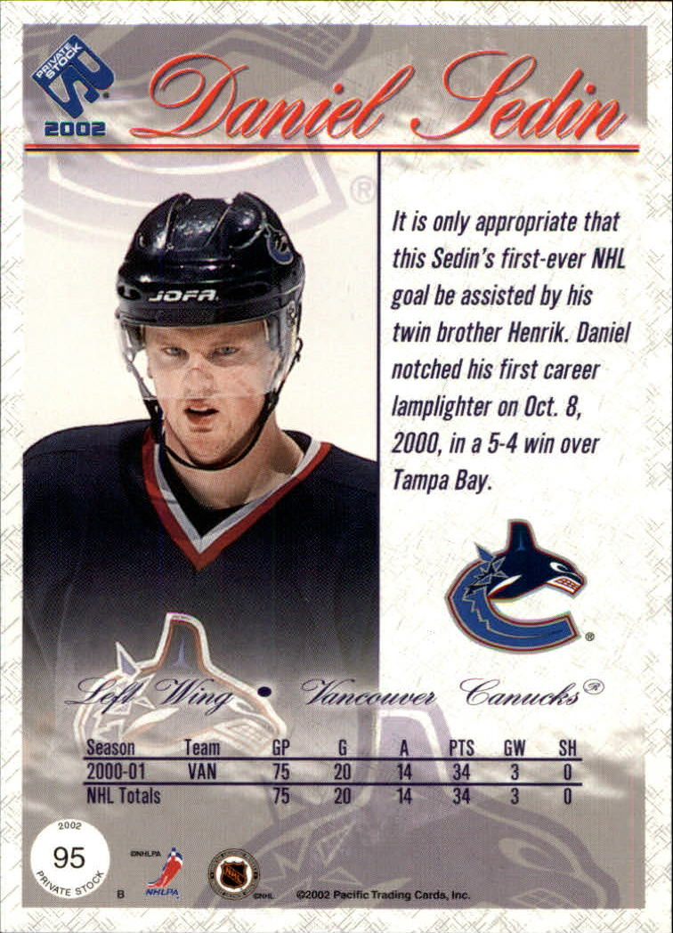 2001-02-Private-Stock-Hockey-Cards-Pick-From-List miniature 165