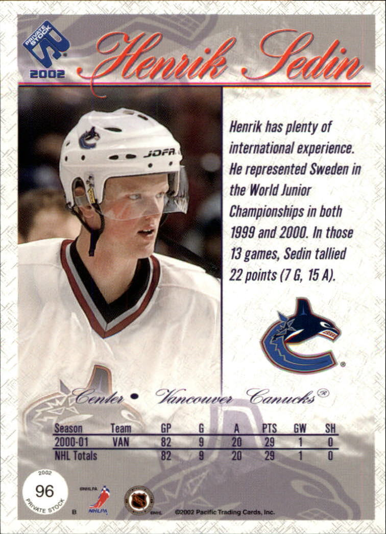 2001-02-Private-Stock-Hockey-Cards-Pick-From-List miniature 167