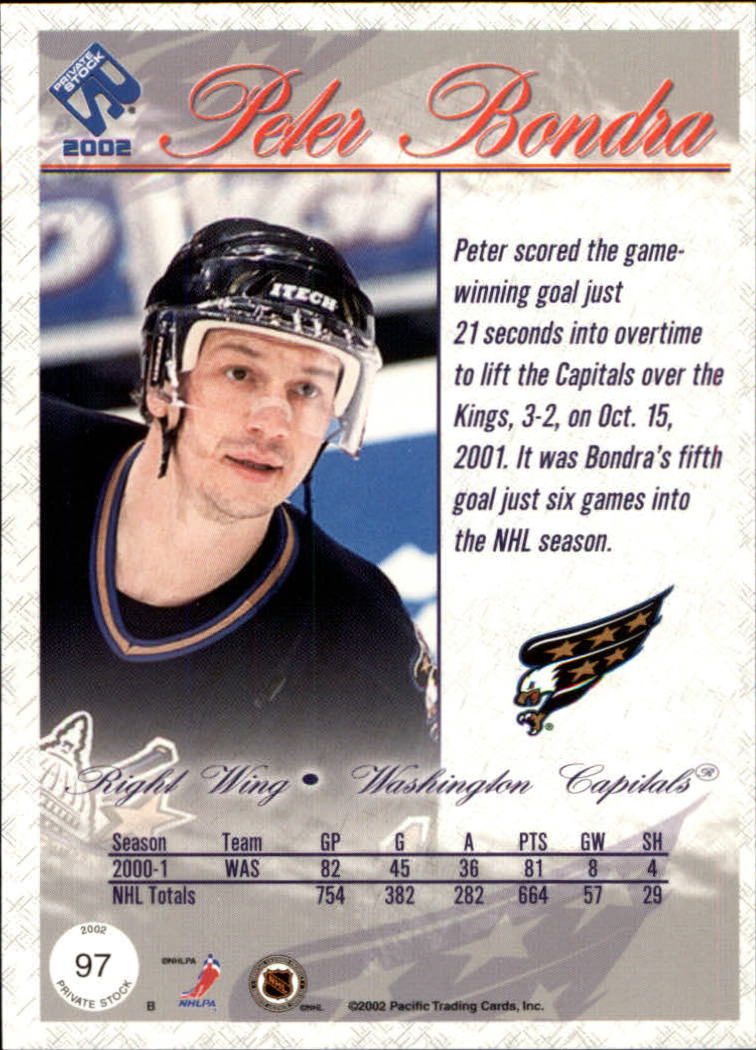 2001-02-Private-Stock-Hockey-Cards-Pick-From-List miniature 169