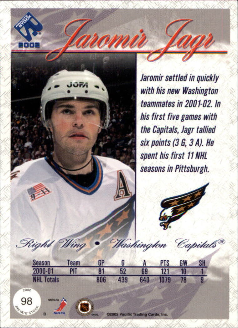 2001-02-Private-Stock-Hockey-Cards-Pick-From-List miniature 171