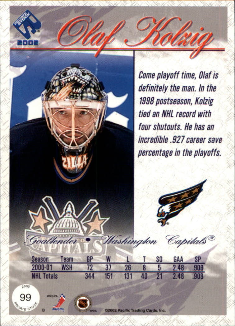 2001-02-Private-Stock-Hockey-Cards-Pick-From-List miniature 173