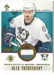 2001-02 Private Stock Game Gear Patches #5 Oleg Tverdovsky