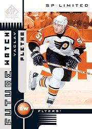 2001-02 SP Authentic Limited #168 Vaclav Pletka