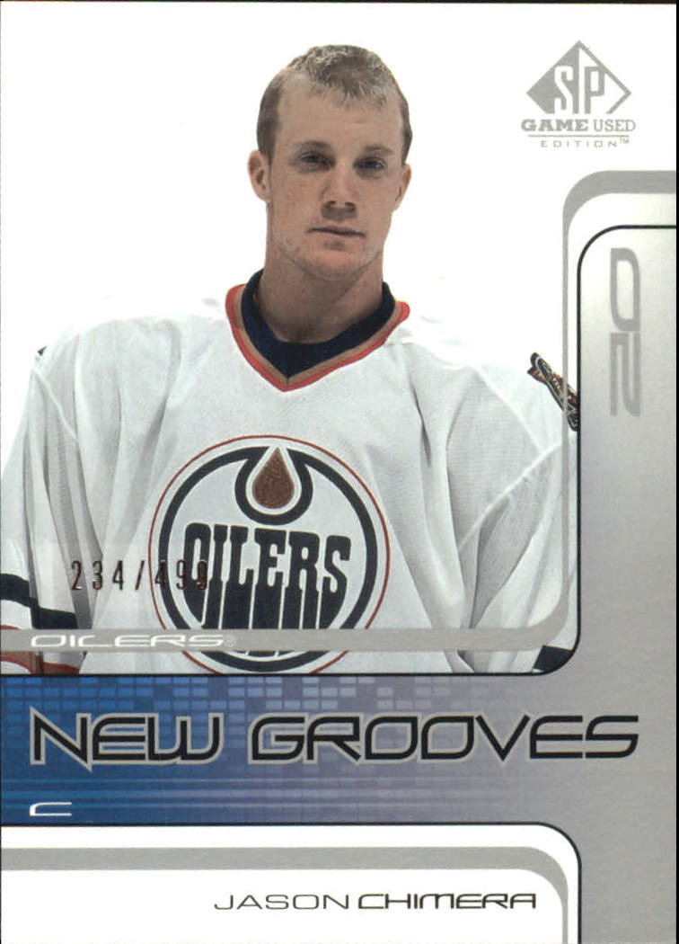 2001-02 SP Game Used #77 Jason Chimera RC
