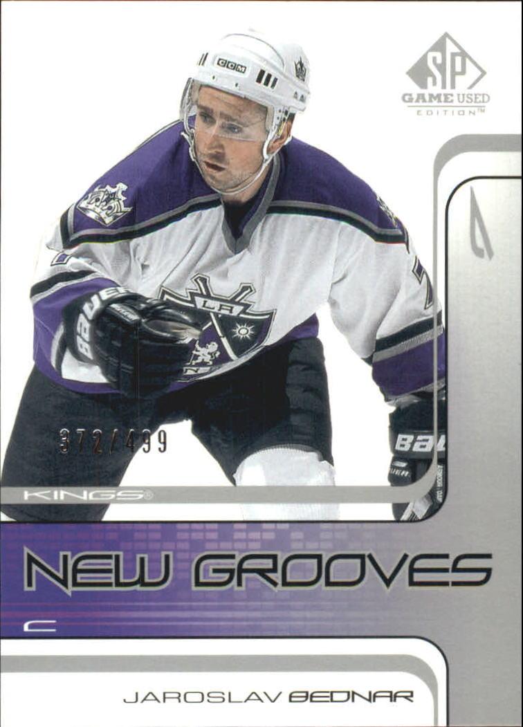2001-02 SP Game Used #80 Jaroslav Bednar RC