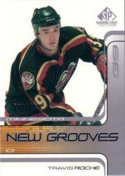 2001-02 SP Game Used #82 Travis Roche RC