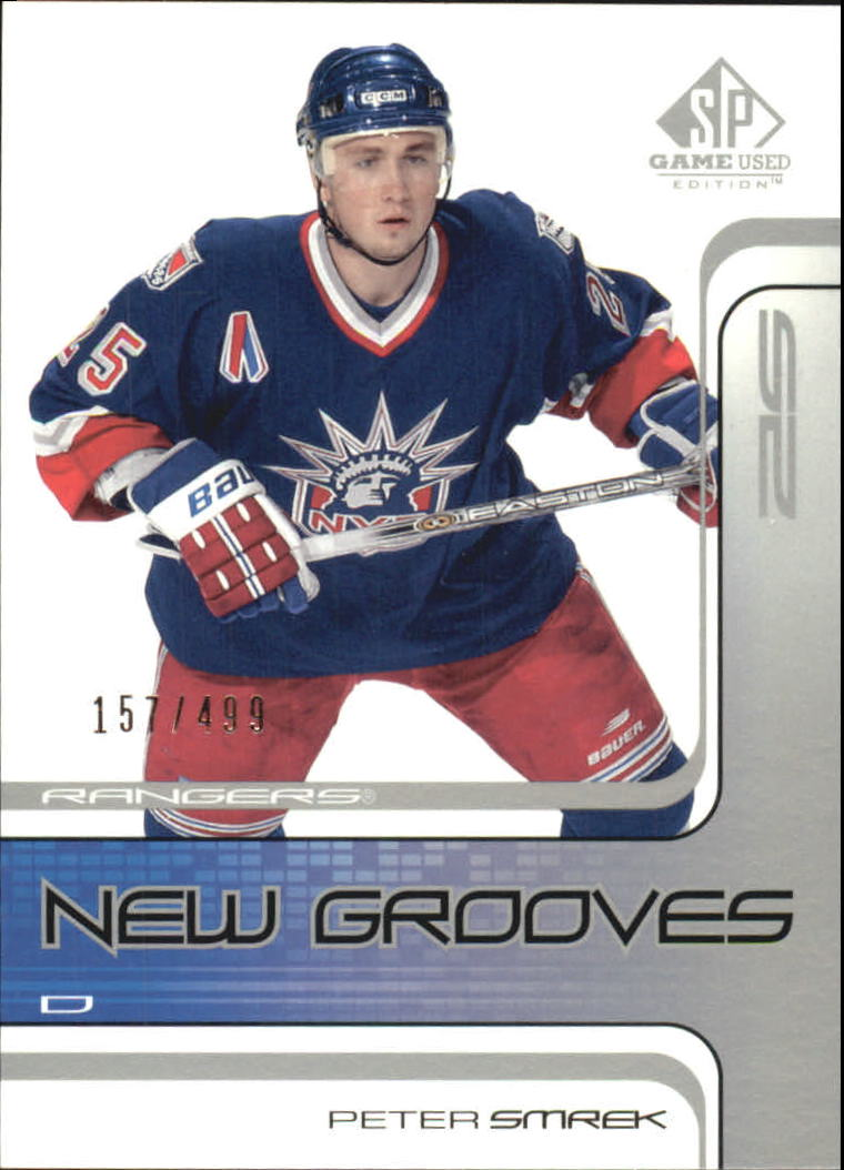 2001-02 SP Game Used #89 Peter Smrek RC