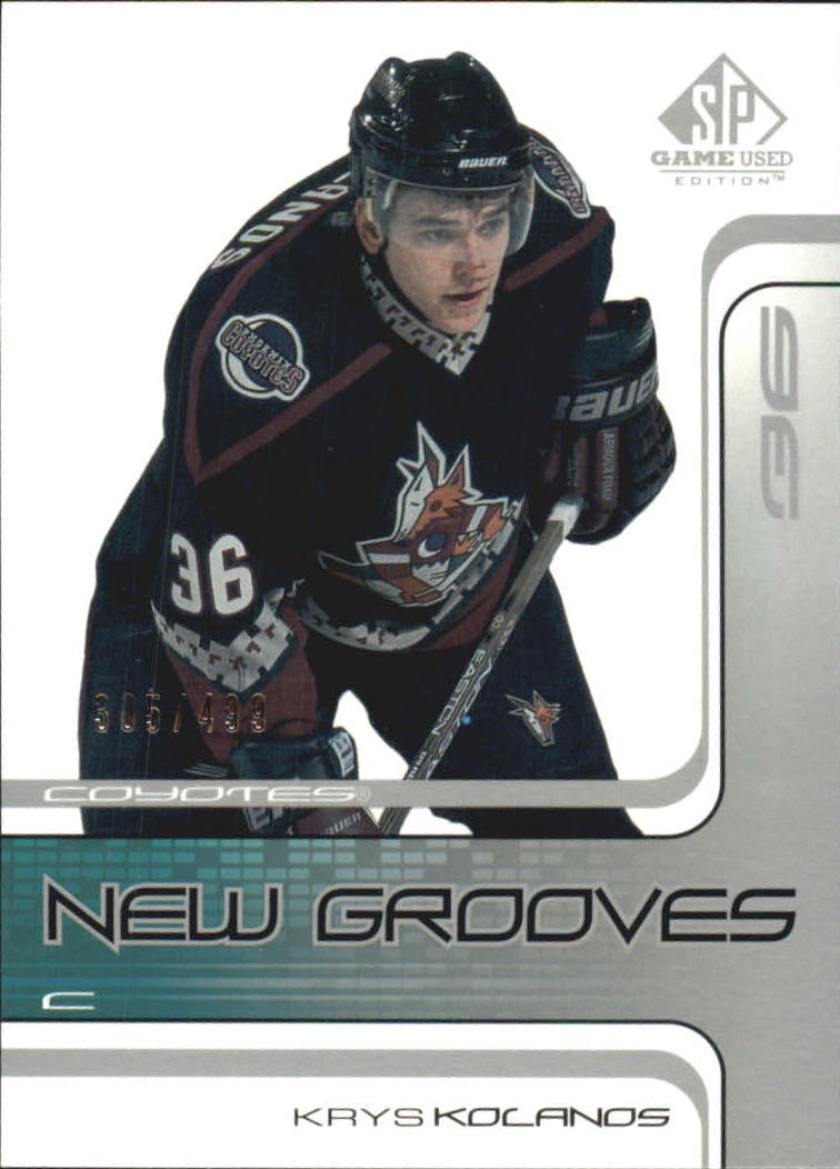 2001-02 SP Game Used #94 Krys Kolanos RC