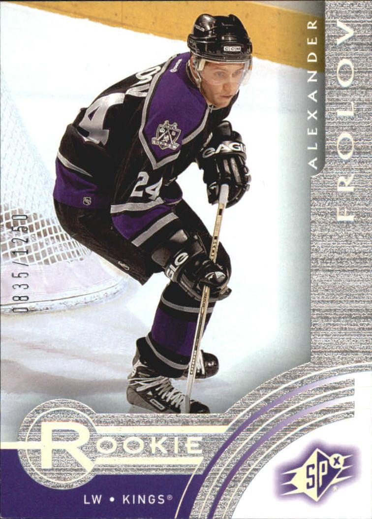 2001-02 SPx Rookie Redemption #R14 Alexander Frolov