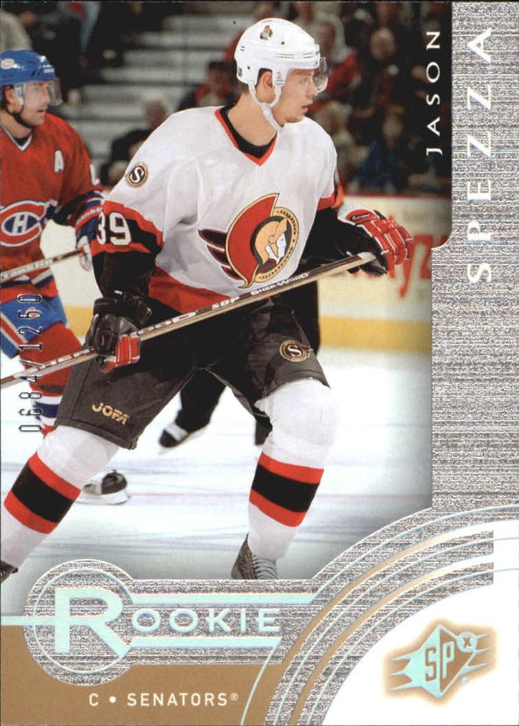 2001-02 SPx Rookie Redemption #R21 Jason Spezza
