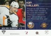 2001-02 Titanium Draft Day Edition #57 Kip Miller back image