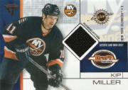 2001-02 Titanium Draft Day Edition #57 Kip Miller