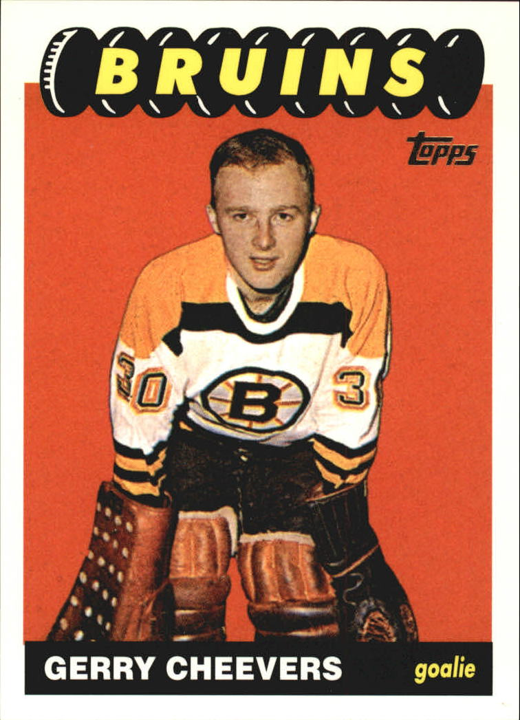 2001-02 Topps Rookie Reprints #4 Gerry Cheevers